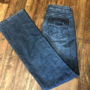 Vintage Sasson Jeans Bootcut Blue Size 4 ooh la la
